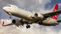 TC-JVT - Turkish Airlines Boeing 737-800 aircraft