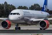 LN-RGO - SAS - Scandinavian Airlines Airbus A320 NEO aircraft