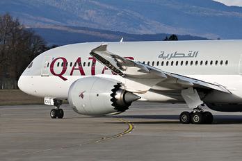 A7-BCU - Qatar Airways Boeing 787-8 Dreamliner