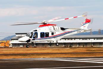 JA04AP - The Asahi Shimbun Company Agusta Westland AW169
