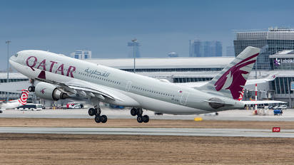 A7-ACB - Qatar Airways Airbus A330-200
