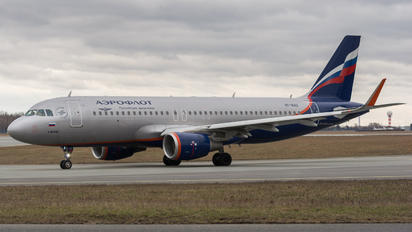 VP-BAD - Aeroflot Airbus A320