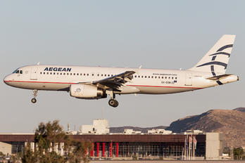 SX-DGN - Aegean Airlines Airbus A320
