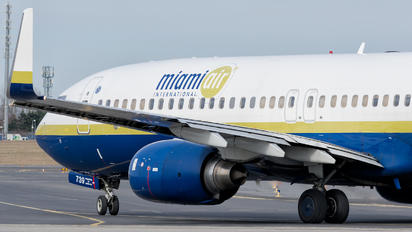 N739MA - Miami Air Boeing 737-800