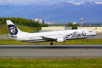 N760AS - Alaska Airlines Boeing 737-400