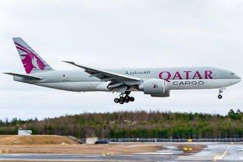 A7-BFC - Qatar Airways Cargo Boeing 777F