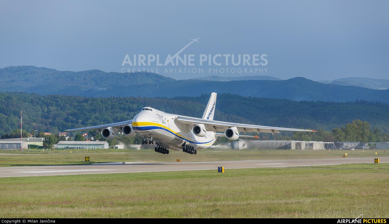 Antonov Airlines /  Design Bureau UR-82029 aircraft at Sliač