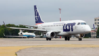 SP-LDE - LOT - Polish Airlines Embraer ERJ-170 (170-100)