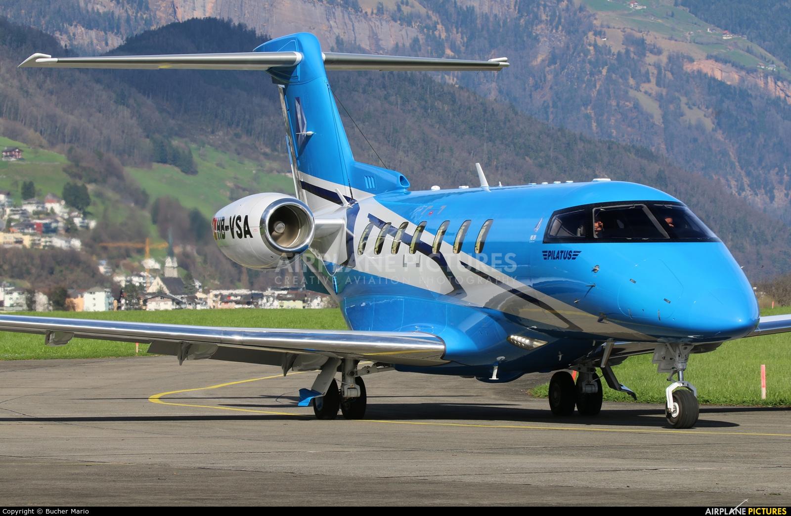 Pilatus HB-VSA aircraft at Buochs