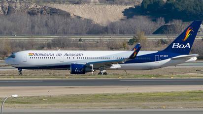 N772AN - Boliviana de Aviación - BoA Boeing 767-300ER