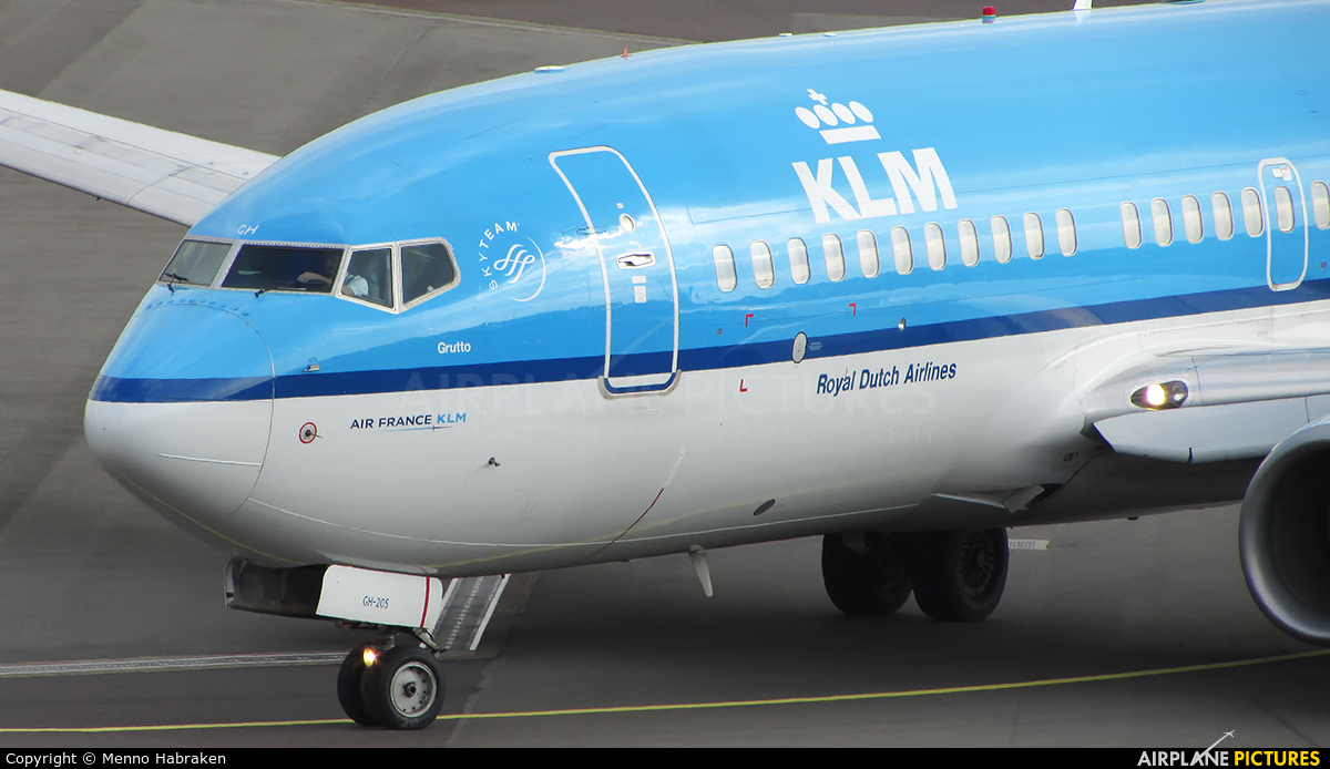KLM PH-BGH aircraft at Amsterdam - Schiphol