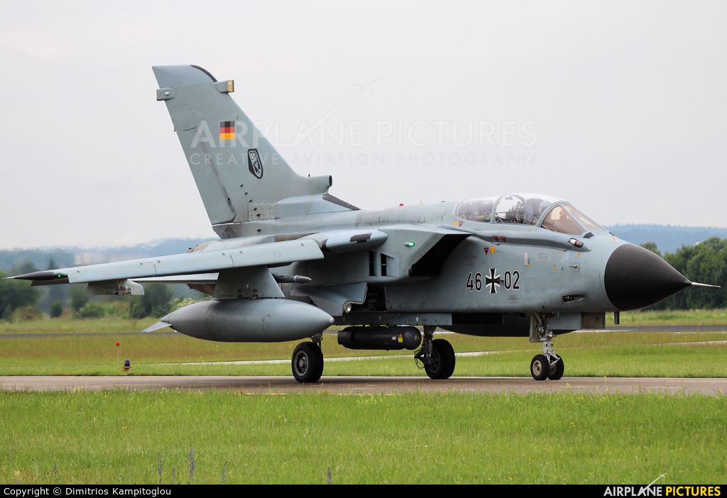 Germany - Air Force 46+02 aircraft at Neuburg - Zell