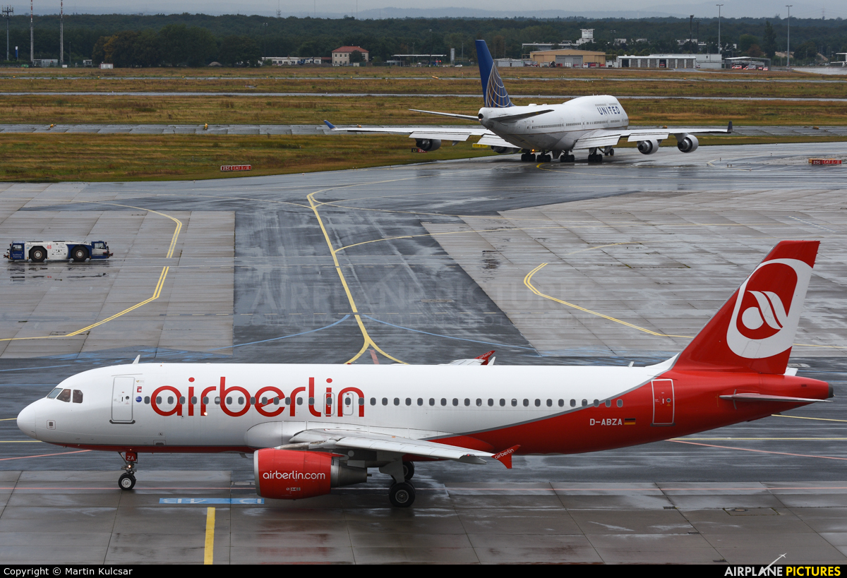 Air Berlin Ankunft Frankfurt