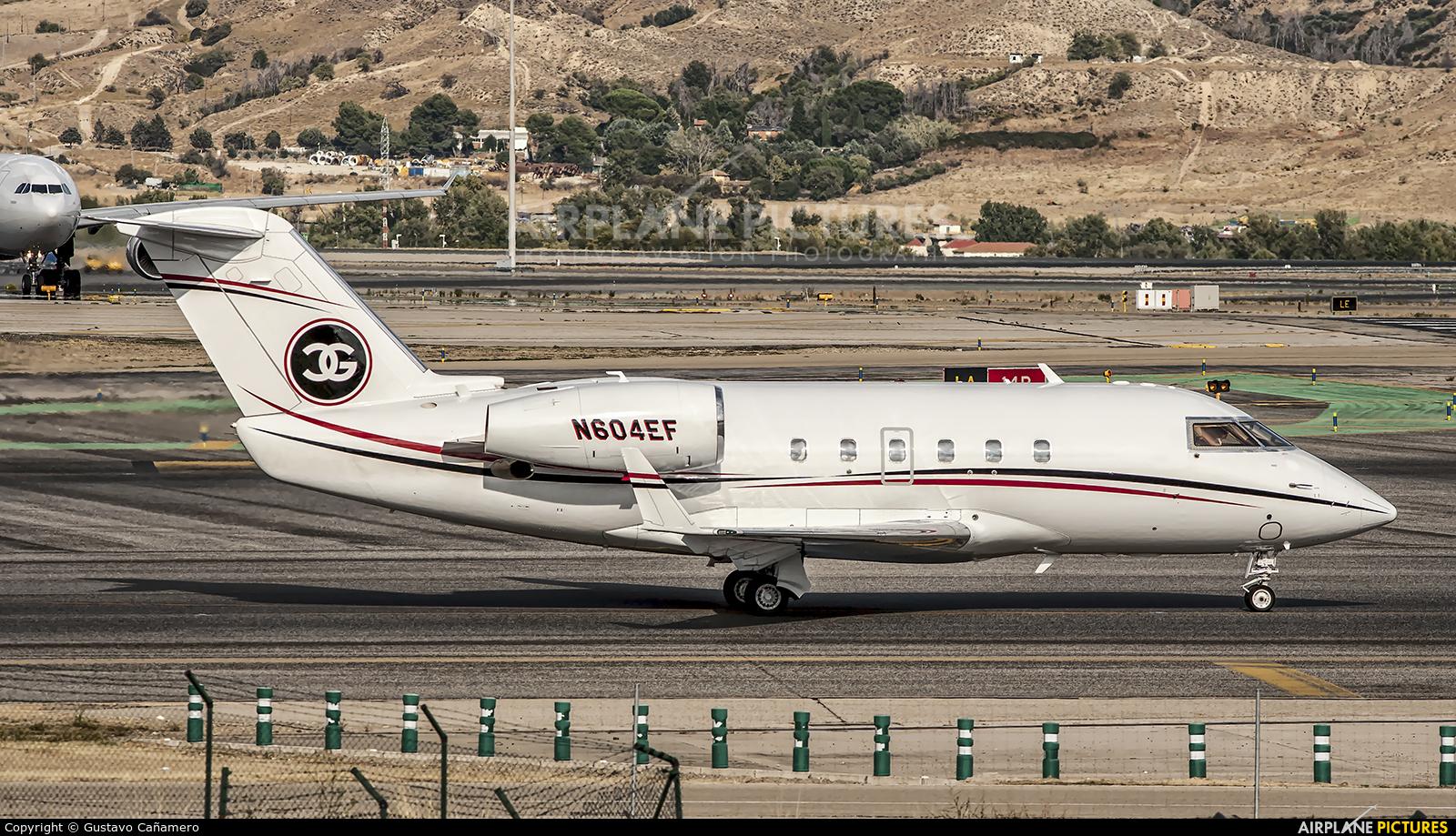 Wells Fargo Bank Northwest N604EF aircraft at Madrid - Barajas
