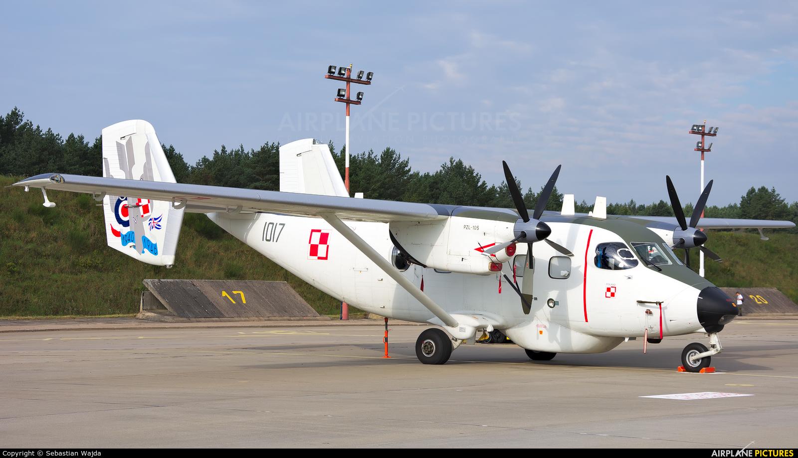 Poland - Navy 1017 aircraft at Mirosławiec