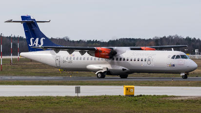 OY-JZC - SAS - Scandinavian Airlines ATR 72 (all models)