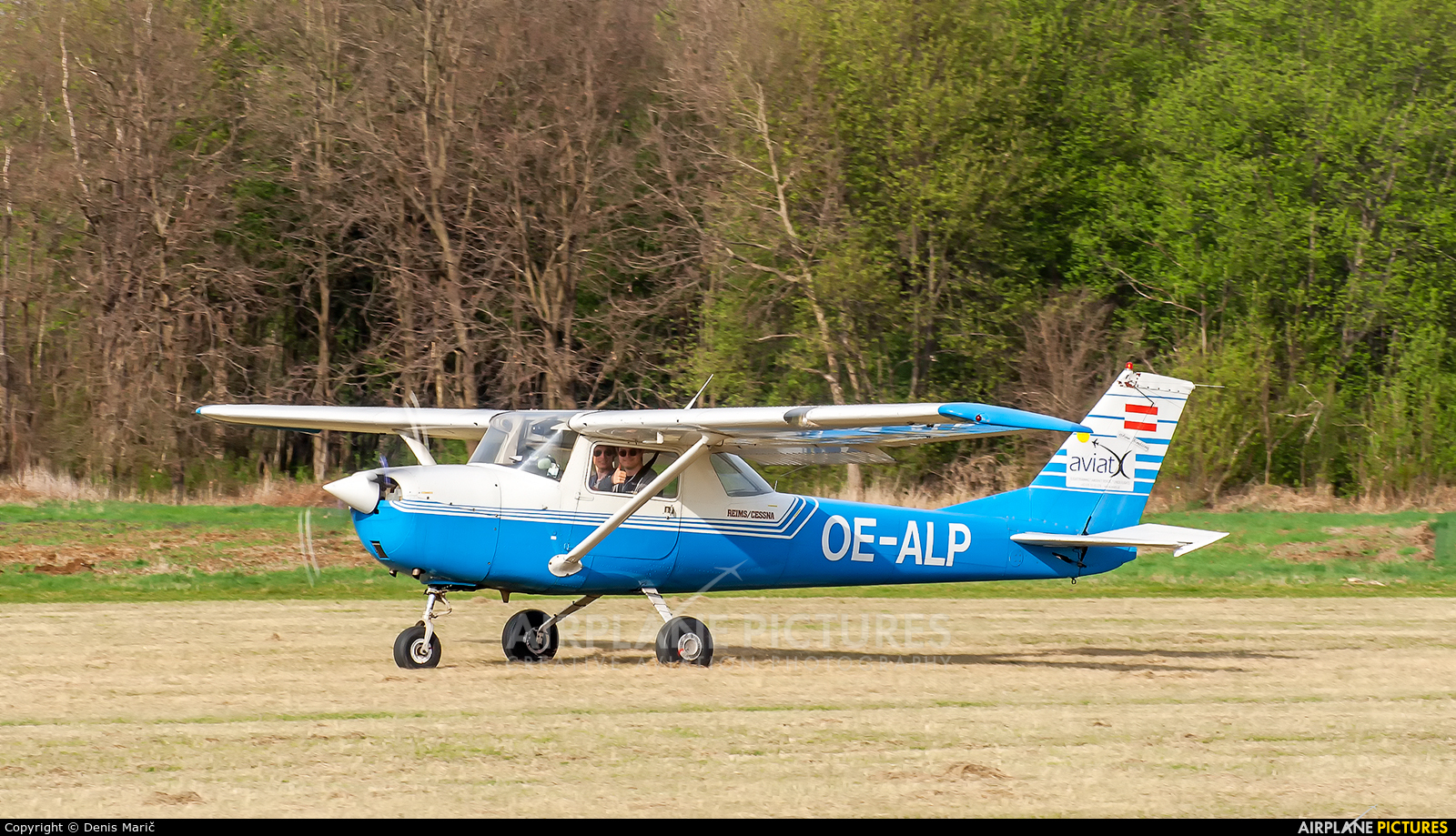 Private OE-ALP aircraft at Murska Sobota