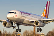 D-AGWF - Germanwings Airbus A319 aircraft