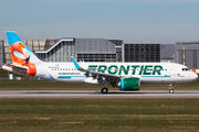D-AVVY - Frontier Airlines Airbus A320 NEO aircraft