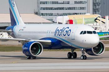 F-WWIU - IndiGo Airbus A320 NEO