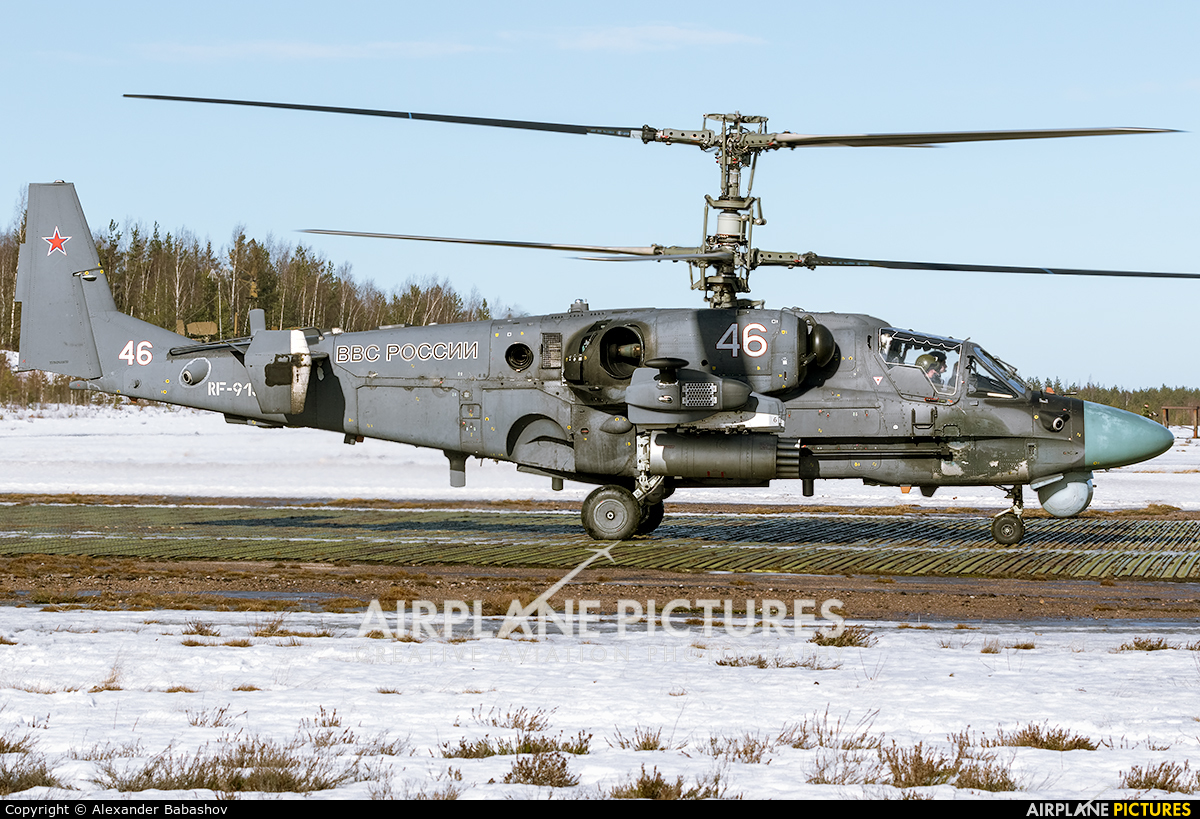 Russia - Air Force Kamov Ka-52 Alligator