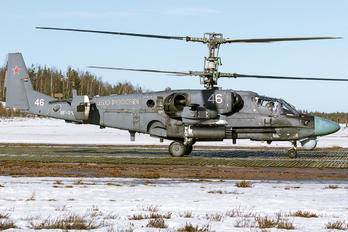 46 - Russia - Air Force Kamov Ka-52 Alligator