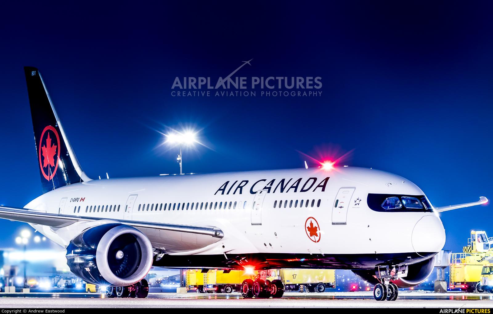 Air Canada C-GHPQ aircraft at Toronto - Pearson Intl, ON