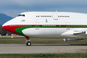 A4O-OMN - Oman - Royal Flight Boeing 747-400