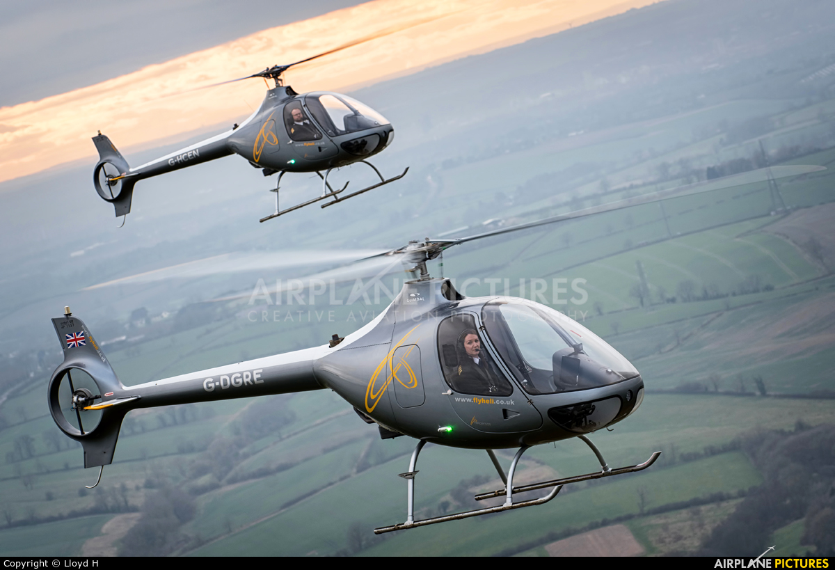 Helicentre Aviation G-DGRE aircraft at In Flight - England