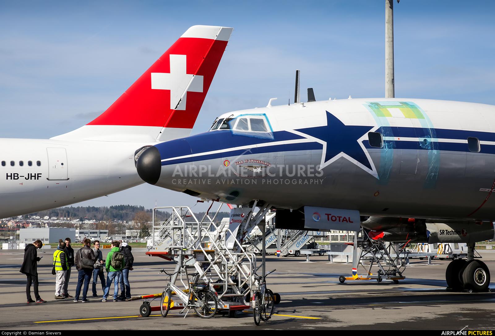 Super Constellation Flyers HB-RSC aircraft at Zurich