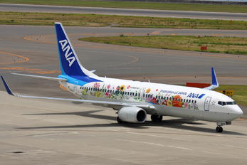 JA85AN - ANA - All Nippon Airways Boeing 737-800