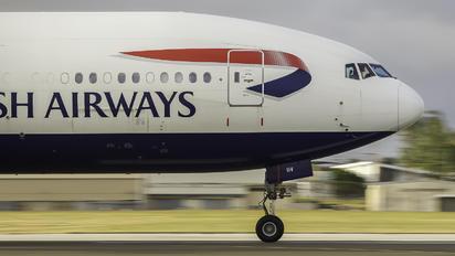 G-VIIV - British Airways Boeing 777-200