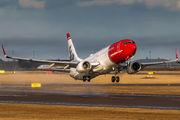 LN-DYP - Norwegian Air Shuttle Boeing 737-800 aircraft