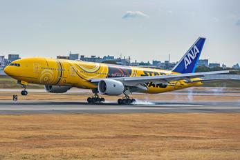 JA743A - ANA - All Nippon Airways Boeing 777-200ER