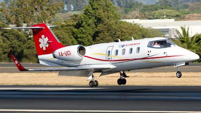 XA-UCI -  Learjet 55