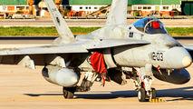 C.15-45 - Spain - Air Force McDonnell Douglas EF-18A Hornet aircraft