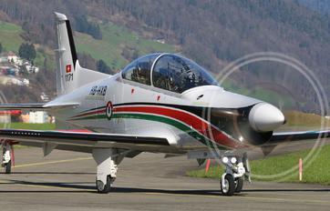 HB-HXB - Jordan - Air Force Pilatus PC-21