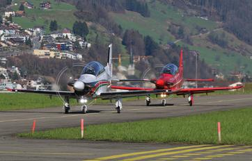 HB-HXB - Jordan - Air Force Pilatus PC-21