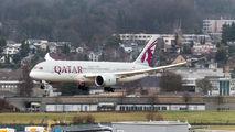 A7-BCP - Qatar Airways Boeing 787-8 Dreamliner aircraft