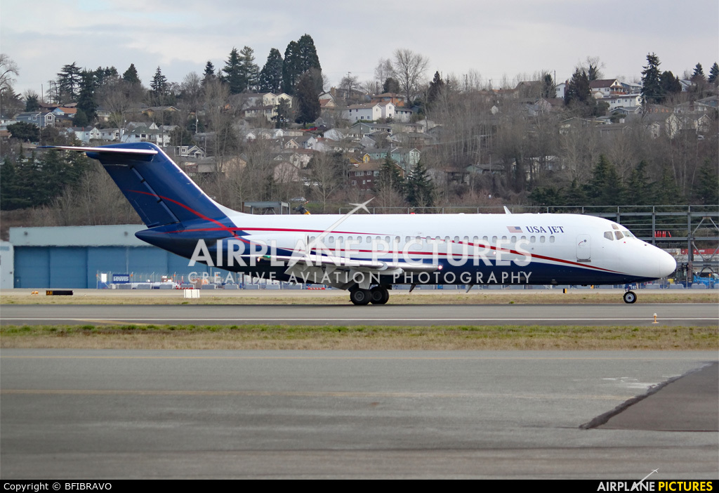 USA Jet Airlines N192US aircraft at Seattle - Boeing Field / King County Intl