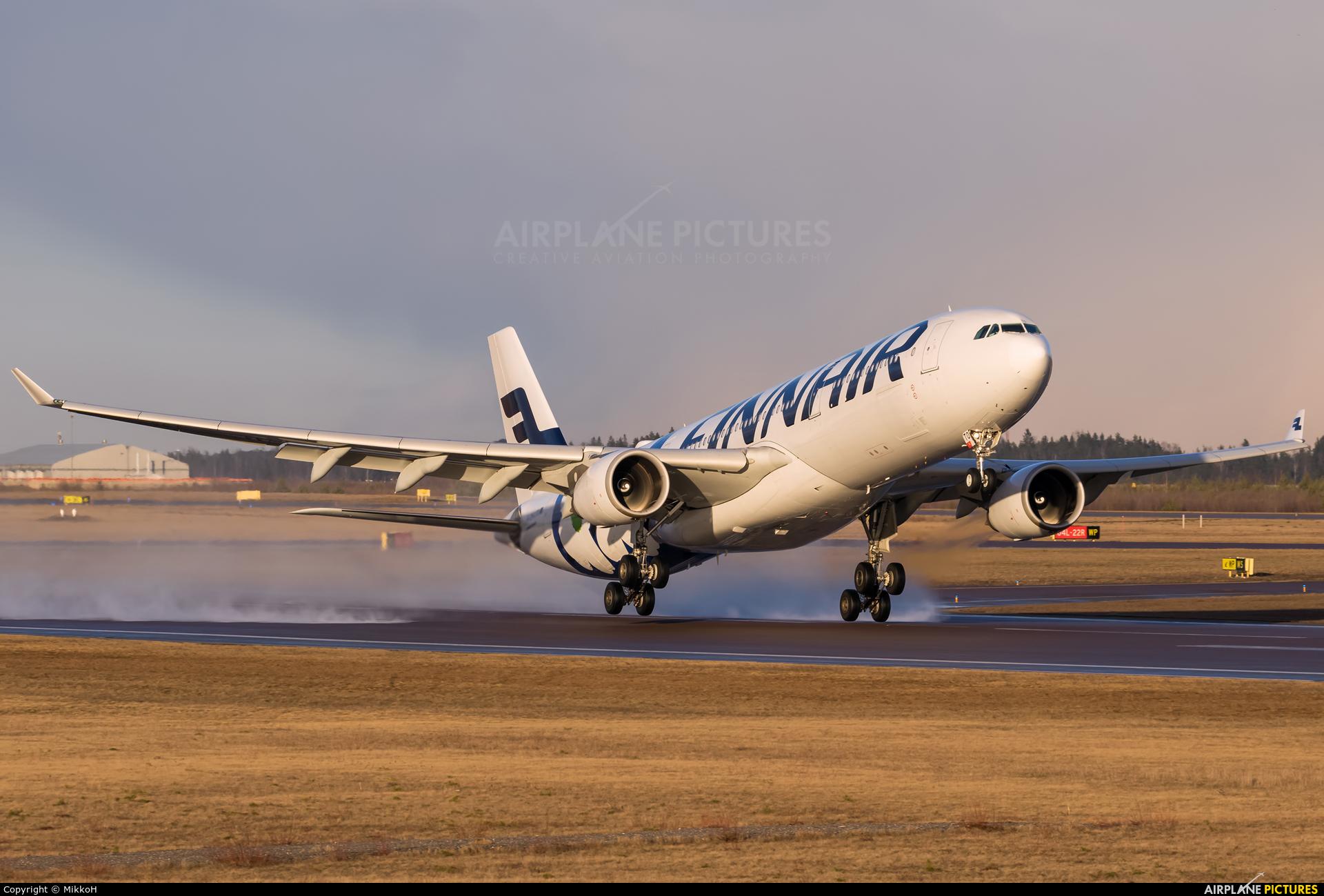 Finnair OH-LTO aircraft at Helsinki - Vantaa