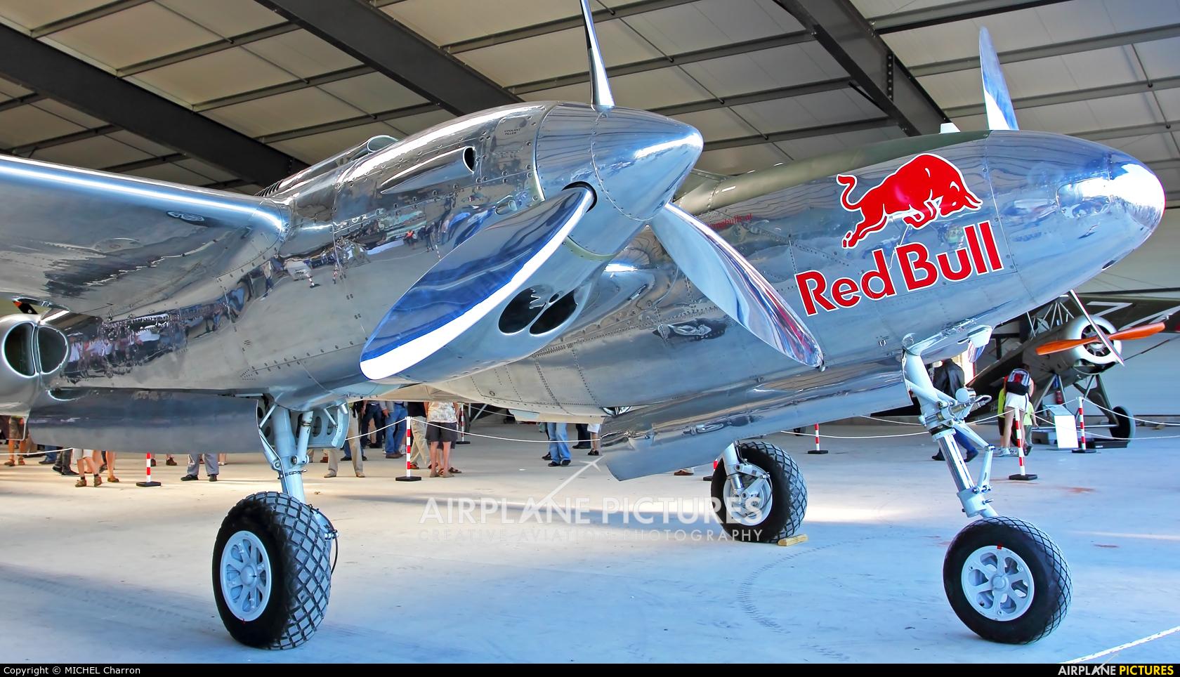 The Flying Bulls N25Y aircraft at La Ferté-Alais