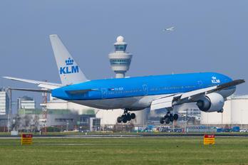 PH-BQP - KLM Boeing 777-200ER