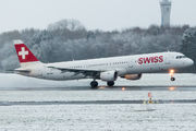 HB-ION - Swiss Airbus A321 aircraft