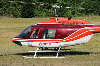 C-GGQL - Farwest Helicopters Bell 206A Jetranger