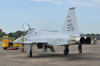 FAH-4002 - Honduras - Air Force Northrop F-5F Tiger II