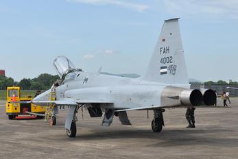 FAH-4002 - Honduras - Air Force Northrop F-5F Tiger II