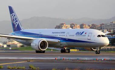 JA879A - ANA - All Nippon Airways Boeing 787-9 Dreamliner