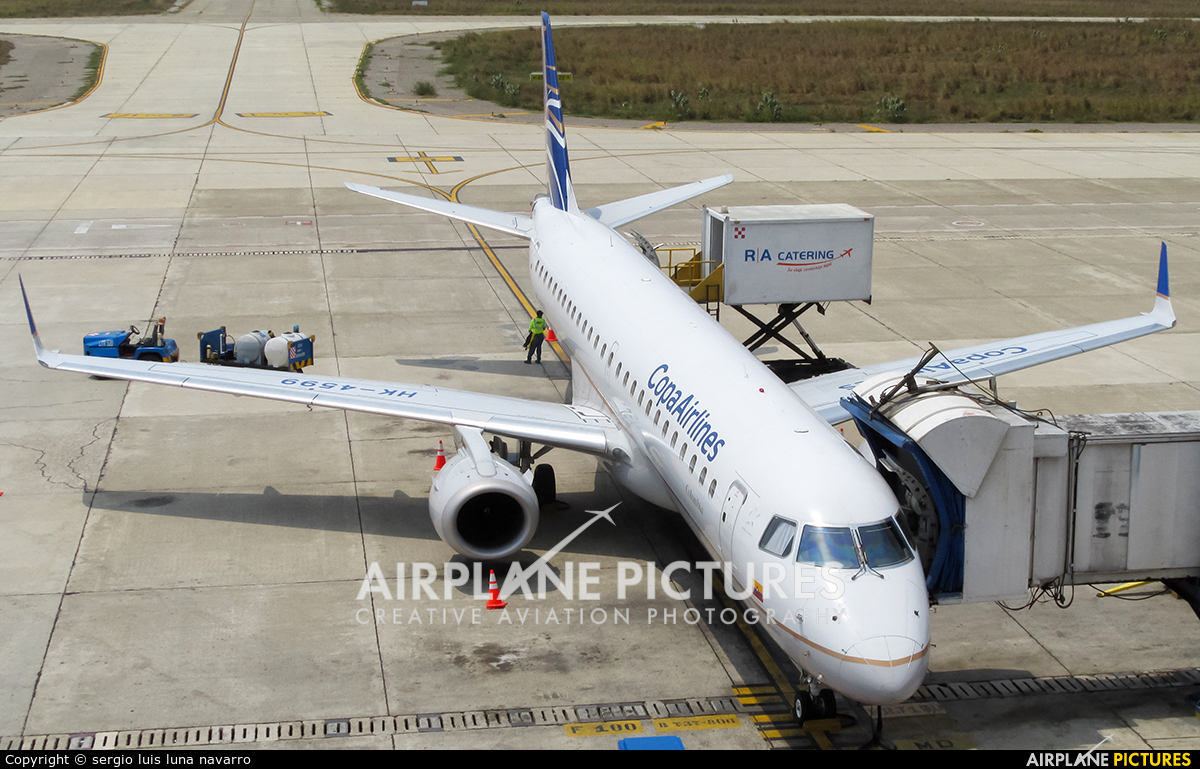 Copa Airlines Colombia HK-4599 aircraft at Off Airport - Colombia