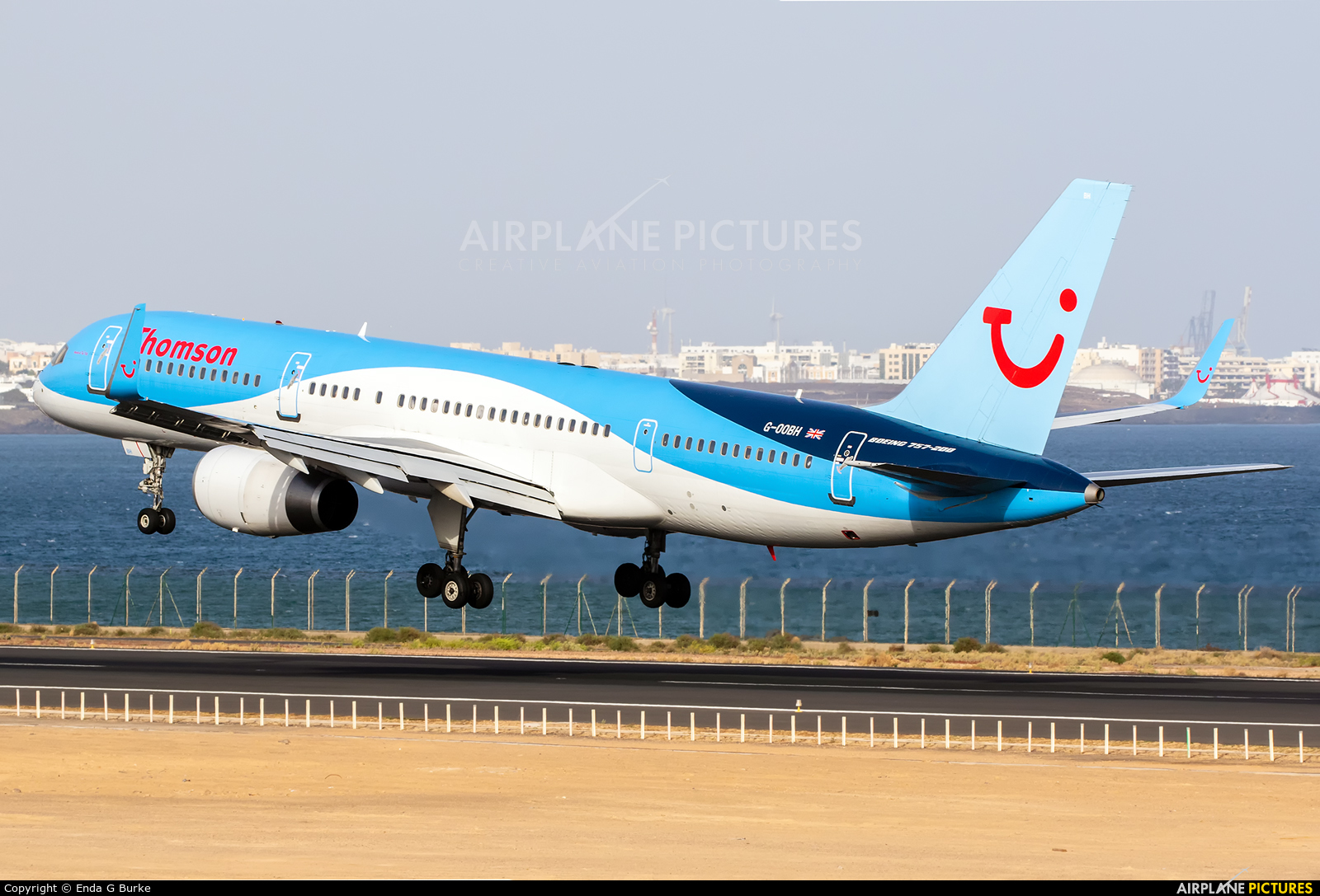 Thomson/Thomsonfly G-OOBH aircraft at Lanzarote - Arrecife
